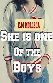 SHE IS ONE OF THE BOYS