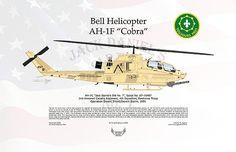 Arthur Eggers - Bell Helicopter AH-1F Cobra