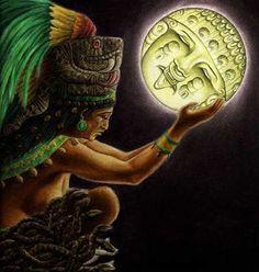 Ixchel, the moon goddess Mayan