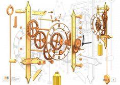 Permalink to free wooden gear clock plans .pdf