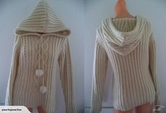 WRANGLER wool & mohair blend hoodie-Sz 10 | Trade Me