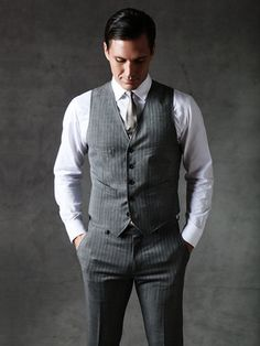Banana Republic - The Mad Men Collection Suit Vest $130
