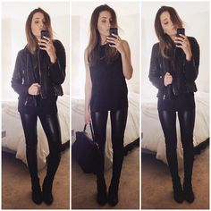 Black leather- @Lovelaurenelizabeth