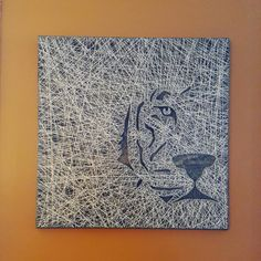 Check out this item in my Etsy shop https://www.etsy.com/listing/390412056/tiger-face-string-art