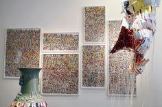 Exposition Dani Umpi à la galerie Xippas Montevideo jusqu'au 30 août 2013 Montevideo, Alsace, 2013, December, Curtains, Home Decor, Art, Radiation Exposure, Blinds