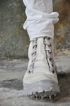 CAROL CHRISTIAN POELL, SS11: the white rubber-dipped trainer. i find it impossible to pick favorites, but this might just be one.
