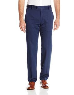 ab7403cae6a Kenneth Cole Reaction Men s Urban Heather Slim Fit Flat Front Dress Pant