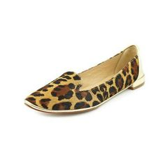 👍HP Tiger DVF Gold Calf Haired  Leopard Flat Beautiful Diane von Furstenberg Calf haired leather/ gold flats. Leather on the bottom with a gold leather  accent heel . Calf hair has been dyed to a tigers print and is absolutely beautiful. Thank you @wade1953 for the HP! Diane von Furstenberg Shoes Flats & Loafers