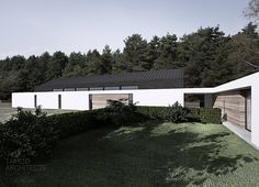 Tamizo Architects - house with horse. single family house with stable.