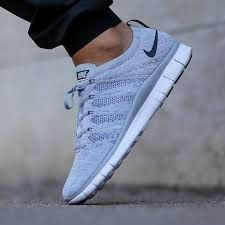 Image result for nike free flyknit grey