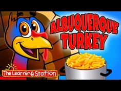 Thanksgiving Songs for Children - Albuquerque Turkey - Kids Song by The Learning Station Thanksgiving Songs For Kids, Thanksgiving Crafts, Kids Songs, Fun Songs, Fall Preschool, Preschool Songs, Kindergarten Songs, Albuquerque Turkey, Turkey Songs