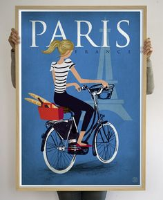 Printspace - Paris, Limited Edition Art Print by Nicholas Girling