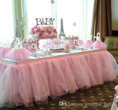 I found some amazing stuff, open it to learn more! Don't wait:https://m.dhgate.com/product/luxury-tulle-tutu-table-skirt-custom-made/249161288.html