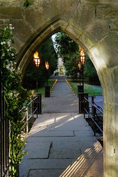This magical wedding took place inside an old castle in Ireland