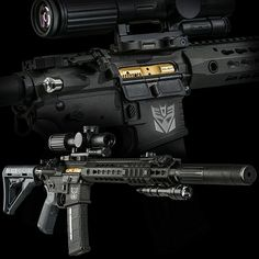 Eric Anderson, RGW and SAI   Transformers rifles image