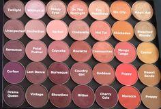 Makeup geek shadows