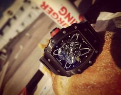 REPOST!!!  Today was a good day. One more BK. Best burger ever. Mc Donald taste like sh** after eating this Lord. 🍔🍟 #Watch  #watchporn #work  #passion #luxury #nancy #watches #fashion #luxe #brand #tourbillon #horloge  #design #instalove #insta  #rm #richard #mille #richardmille #limited #burger #burgerking #king #fastfood  Photo Credit: Instagram ID @aldriic_