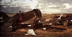 Soviet AF Polikarpov I 16 Type 28 captured by German Forces Ukraine early Barbarossa 1941