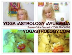 ::Yogastrology® :Yoga :Astrology :Ayurveda:: PREMIER ONLINE COURSE for Yoga Teachers :: Proud to be the Yogastrologer® at Yoga Journal. http://yogastrology.com