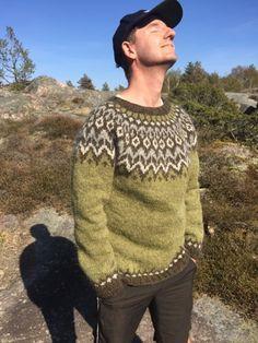 Mens Knit Sweater, Icelandic Sweaters, Sweater Design, Knitting Designs, Lana, Knitwear, Knitting Patterns, Knit Crochet, Winter Fashion