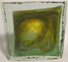 Mdina glass block