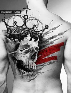 Dope Tattoos, Skull Tattoos, Body Art Tattoos, New Tattoos, Sleeve Tattoos, Tatoos, Skull Tattoo Design, Skull Design, Tattoo Designs