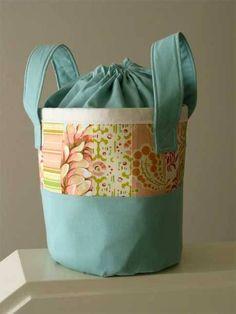 Free Bag Pattern and Tutorial -  Bagsket