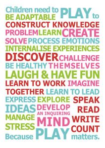 This FREE printable poster reminds us about the importance of play.  Kids need it, but so do we!  It was designed by Christie Burnett, the brains behind Childhood 101.  You can check out the original post Modern Parents, Messy Kids.
