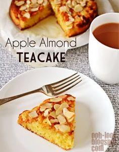 apple almond tea cake