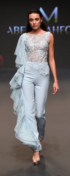 Abed Mahfouz Spring-summer 2017 - Couture - http://www.orientpalms.com/Abed-Mahfouz-6736