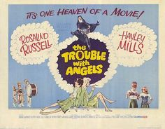 THE TROUBLE WITH ANGELS Movie POSTER 11x14 Hayley Mills June Harding Rosalind