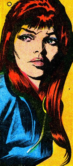"Black Widow by ""Mean"" Gene Colan"
