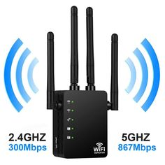 Wireless Wifi Repeater Router Dual-Band Wi-Fi Range Extender Wi Fi Routers Home Network Supplies Wireless Wifi Router, Wireless Security, Ranger, Wifi Extender, Old Phone, Alexa Device, Home Network, Ebay, Wi Fi
