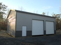 """Building Dimensions: 30' W x 40' L x 16' 6"""" H (ID# 404)  Visit: http://pioneerpolebuildings.com/portfolio/project/30-w-x-40-l-x-16-6-h-id-404-total-cost-22016  Like Us on Facebook! https://www.facebook.com/Pioneer.Pole Call: 888-448-2505 for any questions!"""