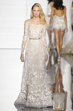 Zuhair Murad at Couture Spring 2015