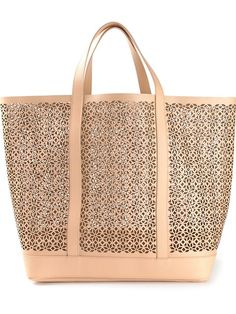 Vanessa Bruno Large Perforated Tote - Rive Gauche - Farfetch.com