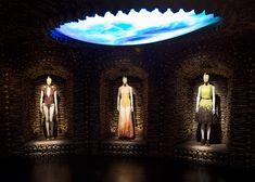 Alexander McQueen Savage Beauty exhibition at V&A London - Romantic Primitivism gallery