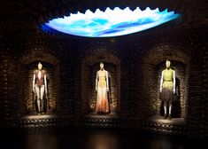 Alexander McQueen Savage Beauty exhibition at V&A London - Romantic Primitivism gallery