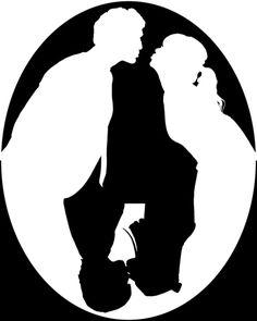 Pushing Daisies silhouette kiss Art Print by Reggie Vass - X-Small Tableau Pop Art, White Art, Black And White, Pushing Daisies, Kiss Art, 3d Drawings, Illusion Art, Illusions, Creepy