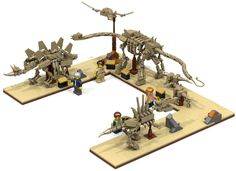 New #LEGO Ideas build up for voting - Lego Dinosaur Fossil Museum.  I like it.