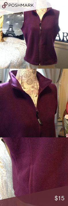 🆕 Purple Polar Fleece Vest 💜🏌🍇 BRAND NEW! Super Soft and Plush Polar Fleece Vest. Has Pockets! Great for those Early Morning Walks, Late Night Bonfires, etc. Perfect for Every Season. Good Layering Piece. Woolrich Brand Size Large Woolrich Jackets & Coats Vests