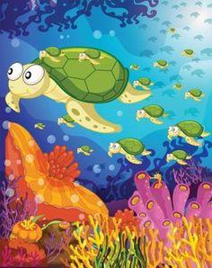 Thema onder water - Juf Maike