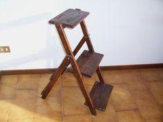 Fioriera portavasi portafiori legno abete ARTIGIANALE pieghevole | eBay