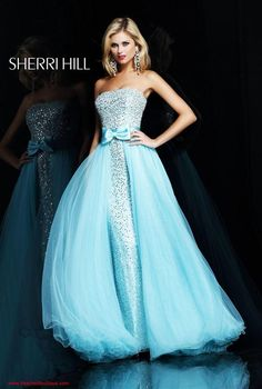 Sherri Hill Sparkly long prom dress
