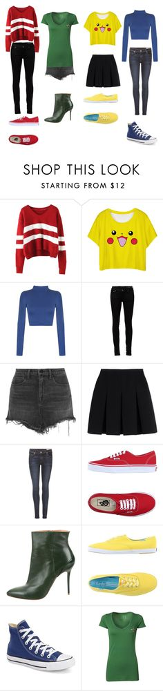 """The BFF squad in hogsmead"" by sophia-smiles ❤ liked on Polyvore featuring WearAll, Yves Saint Laurent, Alexander Wang, rag & bone, Vans, Maison Margiela, Keds, Converse and MyU Apparel"