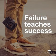 Great post from @carlos_marketing - failure teaches success. Learn from your #failures and apply the lessons to your #business. #sumome by sumome