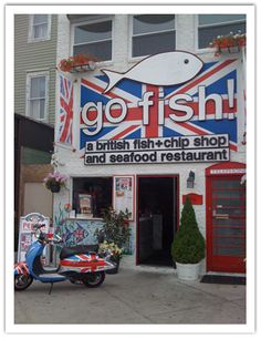 Go Fish! The most delicious fish & chips I've ever had ... heading back there for @michelekmoy's birthday!