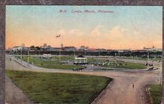 Philippine Islands Manila Luneta Park Horse Buggy c1909 Postcard | eBay