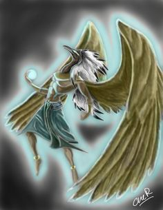 T-T Thoth REDONE Anubis, Egyptian Mythology, Egyptian Things, Bing Images, Fantasy, Illustration, Fictional Characters, Illustrations, Fantasy Books