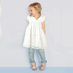 Fashion Baby Girl Lace Dress